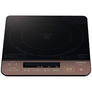 日立 IH調理器 (1400W)  HIT‐S55‐B/ブラック(送料無料)