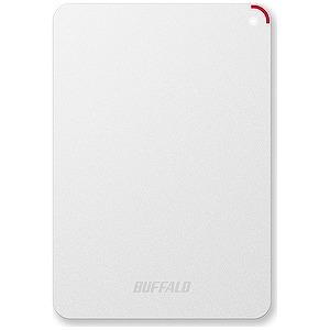 バッファロー ポータブルHDD 4TB「USB3.0・Mac/Win」 HD-PSFU3シリーズ ホワイト HD‐PSF4.0U3‐GW