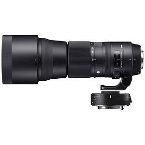 シグマ 交換レンズ 150-600mm F5-6.3 DG OS HSM Contemporary テレコンバーターキット「キヤノンEFマウント」