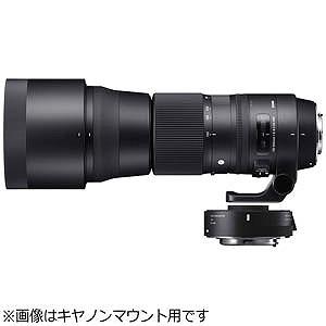 シグマ 交換レンズ 150-600mm F5-6.3 DG OS HSM Contemporary テレコンバーターキット「ニコンFマウント」