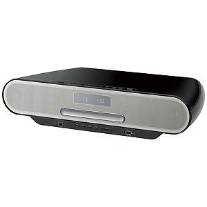 パナソニック 「ハイレゾ音源対応」Bluetooth対応 コンパクトステレオシステム「ワイドFM対応」 SC‐RS55‐K (ブラック)(送料無料)