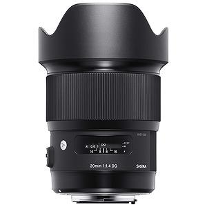シグマ 交換レンズ 20mm F1.4 DG HSM Art「キヤノンEFマウント」