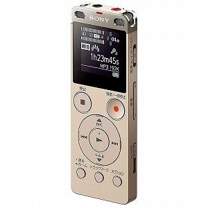 ソニー 「ワイドFM対応」リニアPCMレコーダー「4GB」(ゴールド)  ICD‐UX560FNC(送料無料)