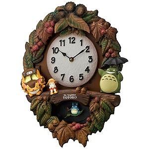 リズム時計工業 掛け時計 「トトロM429」 4MJ429M‐06