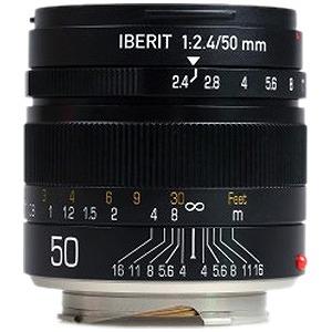 ハンデビジョン 交換レンズ IBERIT 50mm/f2.4「ライカMマウント」(ブラック) IBERIT502.4LMBK(送料無料)