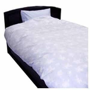 生毛工房(うもうこうぼう) 綿ローン掛ふとんカバー キングロングサイズ(綿100%/ブルー) UM‐K30‐KKL BL(230(送料無料)
