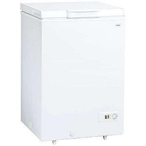 AQUA 直冷式冷凍庫 (103L・上開き) AQF‐10CE‐W (スノーホワイト)(標準設置無料)
