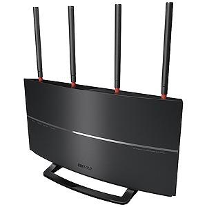 バッファロー 無線LANルータ親機単体 1733Mbps+800Mbps WXR‐2533DHP2