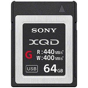 ソニー 64GB XQDメモリーカード(Gシリーズ) QD‐G64E