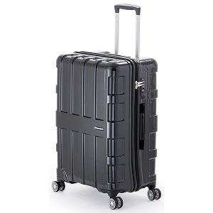 A.L.I スーツケース ALI1601(60L)オールブラック ALI1601 (オールブラック)