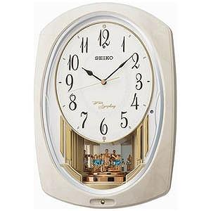 セイコー 電波からくり時計「ウェーブシンフォニー」 AM261A