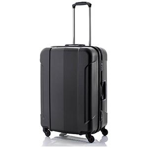 HIDEO.W TSAロック搭載フレームスーツケース「GRAN GEAR」Mサイズ(73L)ガンメタリック 6296791(H07(送料無料)