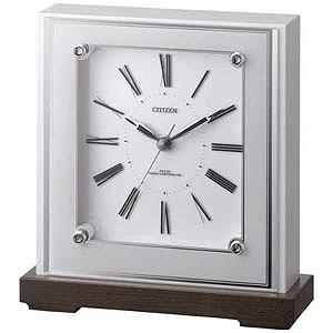 シチズン 電波置き時計「マリアージュ706」 4RY706‐003(送料無料)