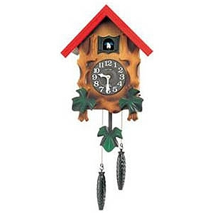 リズム時計工業 掛け時計 「カッコーメルビルR」 4MJ775RH06