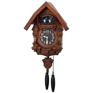 リズム時計工業 掛け時計 「カッコーテレスR」 4MJ236RH06