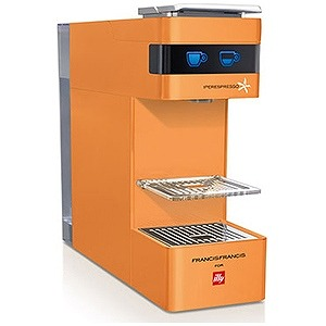 Iperespresso専用エスプレッソマシン illy Y3 オレンジ