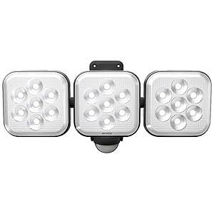 RITEX 8W×3灯フリーアーム式LEDセンサーライト CAC24