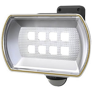 RITEX 8Wワイドフリーアーム式LEDソーラーセンサーライト CSC80