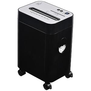 オーム電機 クロスカットシュレッダー(A4サイズ/CD・DVDカット対応)SHR-1202C SHR1202C(ブラ