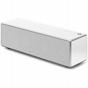 ソニー 【ハイレゾ音源対応】Bluetooth/WiFi対応 スピーカー(ホワイト) SRS‐ZR7 WM(送料無料)