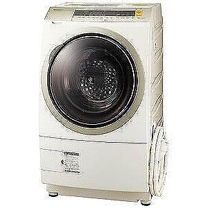 シャープ ドラム式洗濯乾燥機(10.0kg・右開き) ES‐ZP1‐NR(標準設置無料)