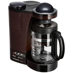 パナソニック ミル付き浄水コーヒーメーカー(5杯分) NC-R500-T (ブラウン)