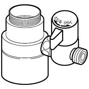 ナニワ製作所 食器洗い乾燥機用 分岐水栓 NSJSPA7