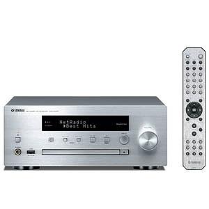 YAMAHA (ワイドFM対応)ネットワークオーディオプレーヤー(シルバー) CRX-N470S(送料無料)