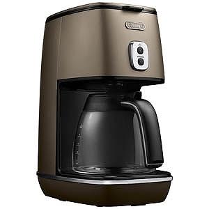 デロンギ ドリップコーヒーメーカー「ディスティンタコレクション」(6杯分) ICMI011J-BZ (フューチャーブロンズ)