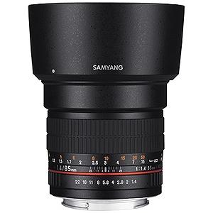 SAMYANG 交換レンズ 85mmF1.4 AS IF UMC フルサイズ対応(キヤノンEFマウント)