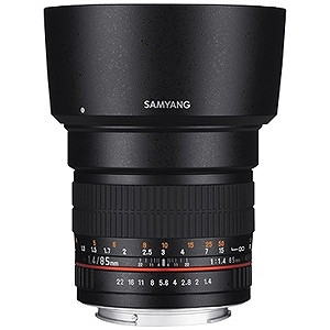 SAMYANG 交換レンズ 85mmF1.4 AS IF UMC フルサイズ対応(ソニーA(α)マウント)