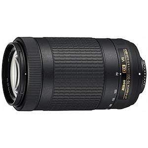 ニコン 交換レンズ AF-P Nikkor 70-300mm f/4.5-6.3G ED VR(ニコンFマウント)(送料無料)