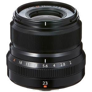 富士フィルム 交換レンズ XF23mmF2 R WR(FUJIFILM Xマウント)(ブラック)