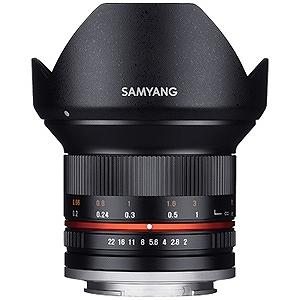 交換レンズ 12mm F2.0 NCS CS APS‐C用(ソニーEマウント)(ブラック)(送料無料)