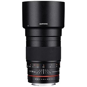 SAMYANG 交換レンズ 135mm F2.0 ED UMC フルサイズ対応(キヤノンEF‐Mマウント)