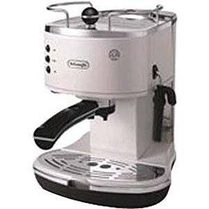 デロンギ 「エスプレッソマシン兼用」コーヒーメーカー(1.4L) ECO310W (ホワイト)(送料無料)