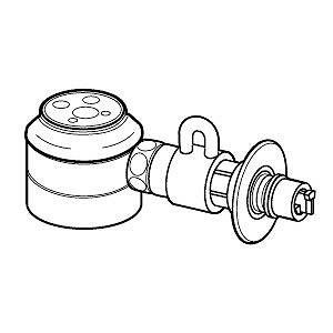 パナソニック Panasonic 食器洗い乾燥機用 分岐水栓 CBSED6