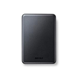 バッファロー ポータブルHDD 2TB[USB3.0・Mac/Win]Mini Station HD‐PUS2.0U3‐BC (ブラック)(送料無料)