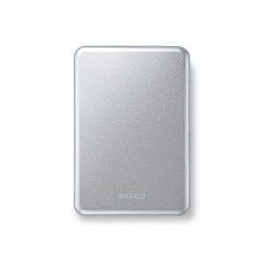 バッファロー ポータブルHDD 1TB[USB3.0・Mac/Win]Mini Station HD‐PUS1.0U3‐SC (シルバー)