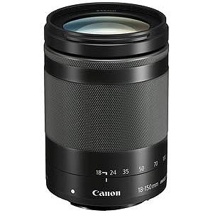 Canon 交換レンズ EF-M18-150mm F3.5-6.3 IS STM(グラファイト)【キヤノンEF-Mマウント】