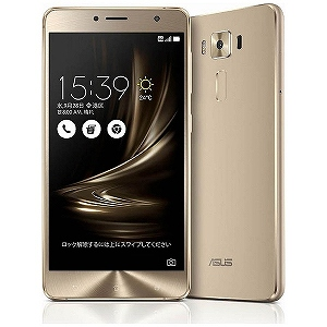 ASUS ZenFone3 Deluxe Series 5.5型SIMフリースマートフォン ZS550KL-GD64S4 (ゴールド)