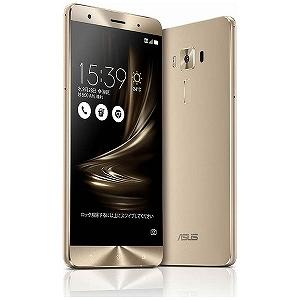 ASUS ZenFone3 Deluxe Series 5.7型SIMフリースマートフォン ZS570KL-GD256S6 (ゴールド)