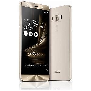 ASUS ZenFone3 Deluxe Series 5.7型SIMフリースマートフォン ZS570KL-SL256S6 (シルバー)