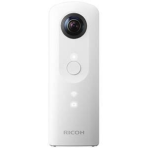 リコー 全天球画像撮影コンパクトデジタルカメラ RICOH THETA SC WH (ホワイト)