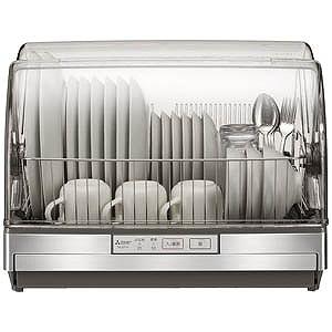 三菱 食器乾燥機「クリーンドライ」(6人分) TK-ST11-H (ステンレスグレー)