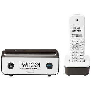 パイオニア (子機1台)デジタルコードレス留守番電話機 TF-FD35W-BR (ビターブラウン)