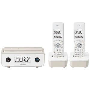 パイオニア (子機2台)デジタルコードレス留守番電話機 TF-FD35T-TY (マロン)(送料無料)