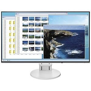 ナナオ/EIZO 23.8型LEDバックライト搭載液晶モニター(ホワイト)FlexScan EV2451-RWT