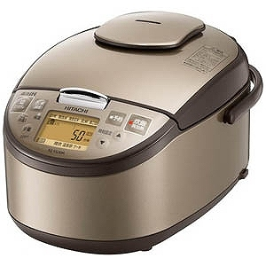 日立 HITACHI 炊飯器 HITACHI 炊飯器 [5.5合/圧力IH] RZ-YG10M-T 日立 (ライトブラウン), アサヒシューズ直営店:fc72e217 --- officewill.xsrv.jp