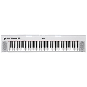 YAMAHA 電子キーボード piaggero(ピアジェーロ) NP‐32WH(76鍵盤/ホワイト)